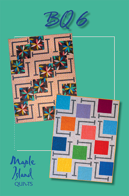 BQ6 QUILT PATTERN - MAKES MULTIPLE SIZES - MIQ243