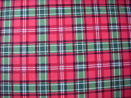 MULTI COLOR PLAID FABRIC - C8698 Multi