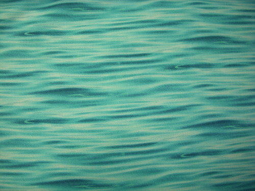 TURQUOISE BLUE RIPPLED WATER-LOOK FABRIC - 365-Turquoise