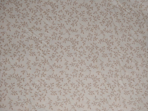 """LIGHT BROWN VINES ON TAN 108"""" WIDE BACKING - 7882-46"""