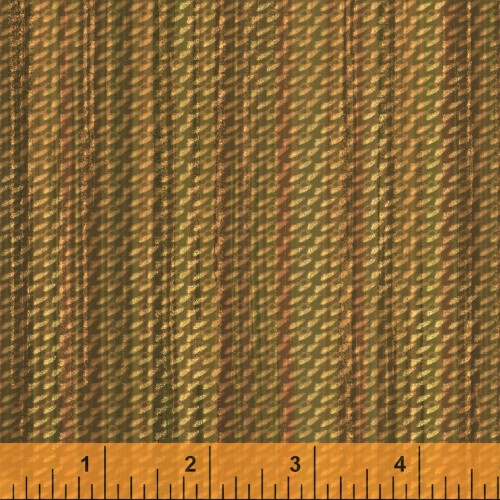 GOLD BASKET WEAVE PRINT FABRIC - 40256-3