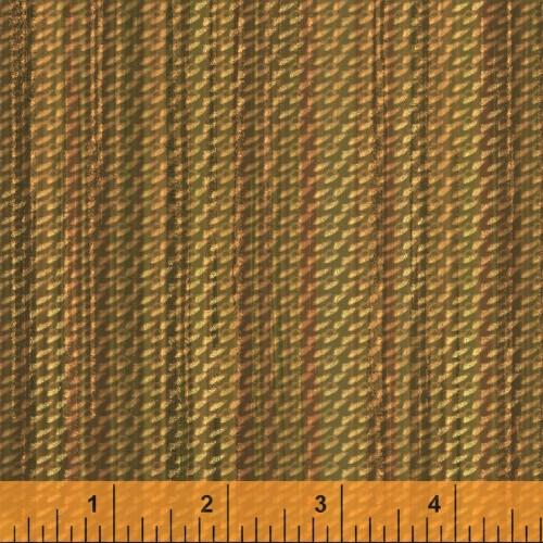 GOLD BASKET WEAVE PRINT FABRIC - 40256-3