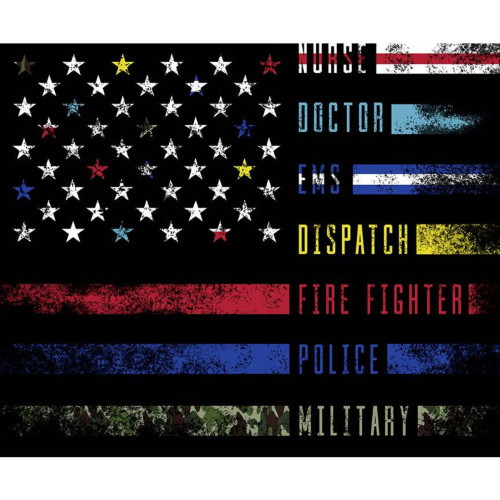 "FIRST RESPONDERS PANEL - 36"" X 42"" - P10423-Panel"