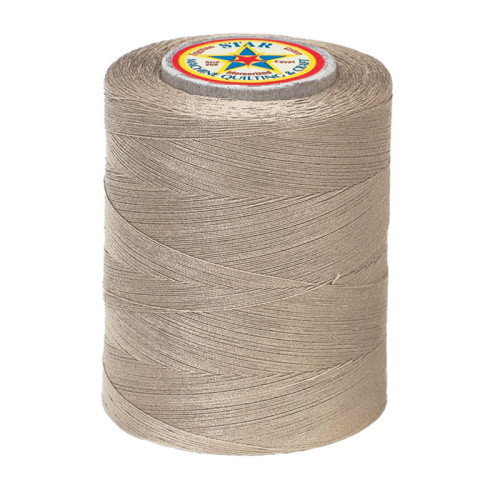 QUILTING AND CRAFT THREAD - CAMEL - 3-ply - Cotton -1200yds - V37-597