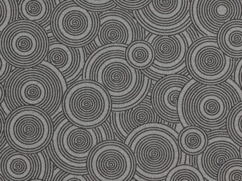 """TOSSED GRAY ON GRAY DOTTED CIRCLES 108"""" WIDE BACKING - BD-48494-A11-C"""