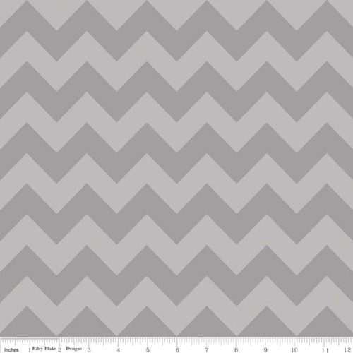 MEDIUM GRAY TONE ON TONE CHEVRONS