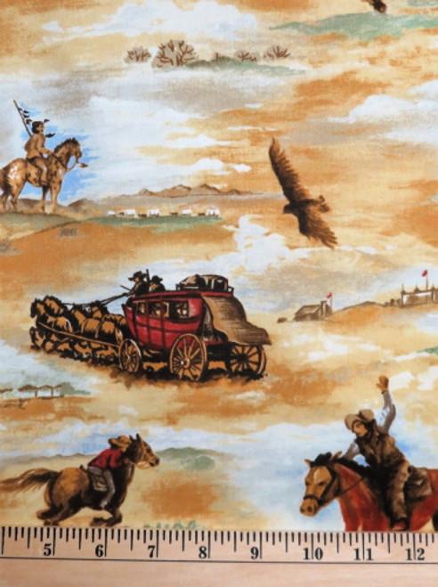 THE ESSENTIAL COWBOY FABRIC - CTN-TRO1057-C