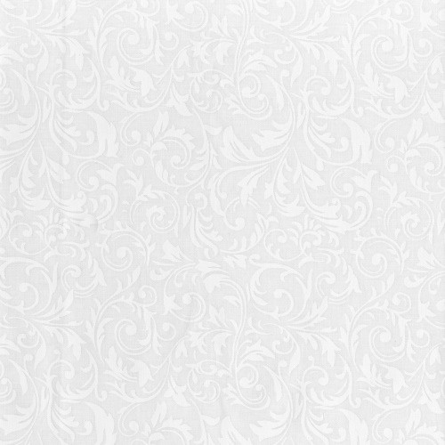 SPARKLING WHITE ON WHITE PRINT BATIK FABRIC - BC33Q-X
