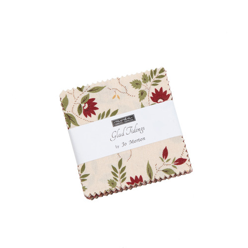 "GLAD TIDINGS MINI CHARM PACK - 42 2 1/2"" SQUARES - 38090MC"