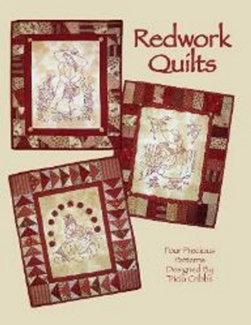 REDWORK QUILTS - BOOK 1 - Four Precious Patterns