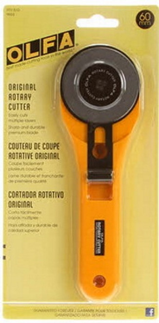 OLFA 60mm X-LARGE ROTARY CUTTER - RTY-3G 9653