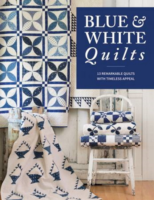 BLUE & WHITE QUILTS BOOK - B1521T