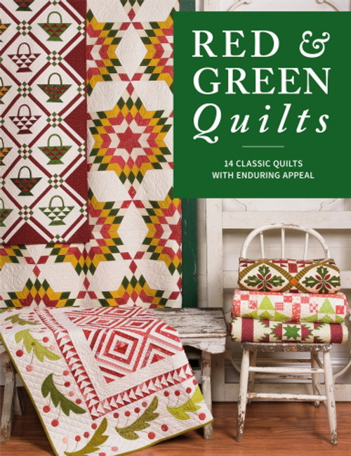 RED & GREEN QUILTS BOOK - B1551T