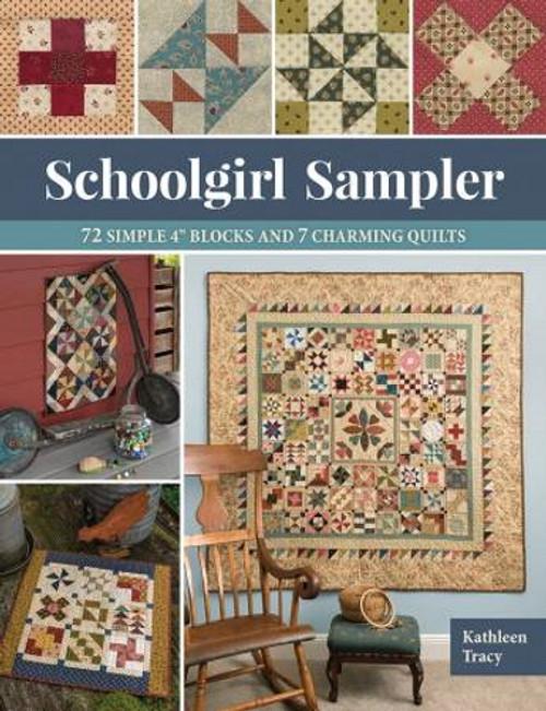 SCHOOLGIRL SAMPLER BOOK - B1538T