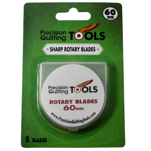 60mm ROTARY CUTTER BLADES, 5 PACK - 60MMSBLADE5
