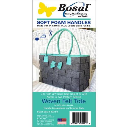"Soft Foam Handles - 2 count - 2"" x 36.5"" - #493-02"