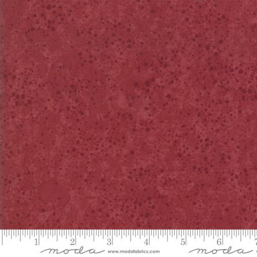 DARK RED SPLATTER ON RED - 9600-23
