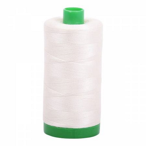 Chalk Cotton Mako Thread - 40wt - 1092 yards (1000m) - MK40-2026