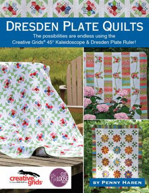DRESDEN PLATE QUILTS - CLPBOOK001 Front