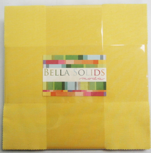 "BELLA SOLIDS 30's COLORS 10"" x 10"" SQUARES (LAYER CAKE) 42 PCS - 9900LC-23"