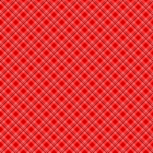 RED PLAID FABRIC - 513-10