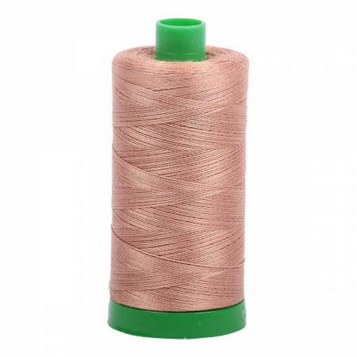 Cafe Au Lait Cotton Mako Thread - 40wt - 1092 yards (1000m) - MK40-2340