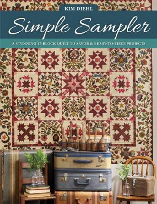 SIMPLE SAMPLER BOOK - B1555T