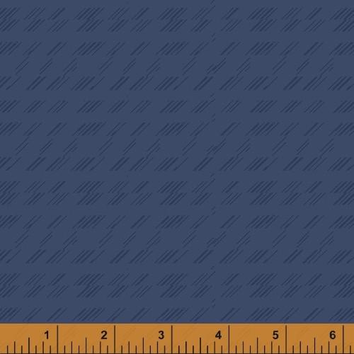 DELPHIN BLUE 'STRIKE' PATTERN ON BLUE FABRIC - 51578-9