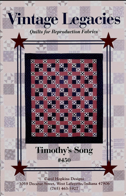 TIMOTHY'S SONG-Front Side