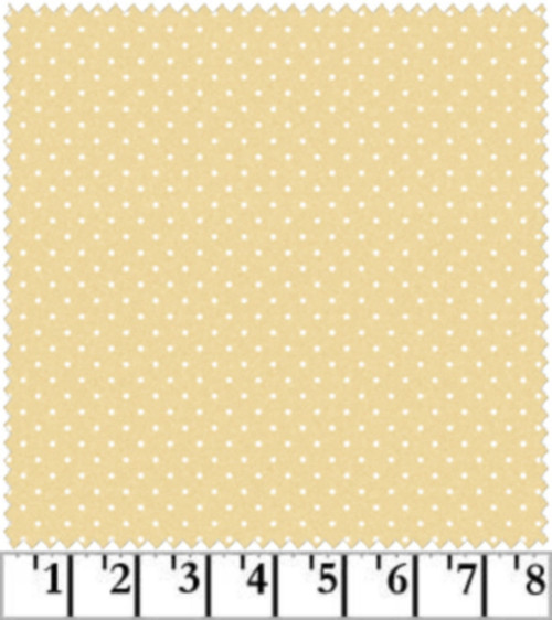 WHITE DOTS ON TAN COORDINATE