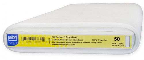 HEAVYWEIGHT PELLON SEW IN STABILIZER BY THE YARD - 50P-WHT