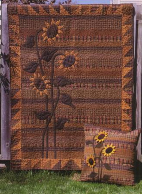 Sunflower Meadow Quilt Pattern - BQ-112