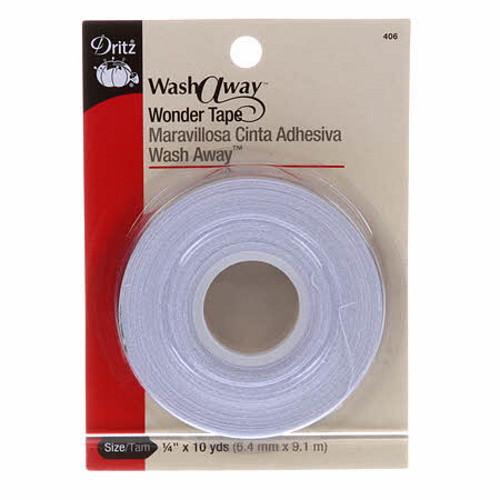 Wash-Away Wonder Tape - 1/4in x 10yds - 406