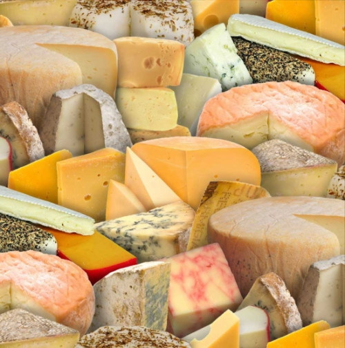 Tossed Assorted Cheeses - 388Multi