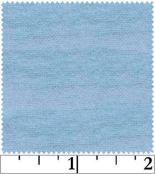 BABY BLUE FLANNEL FABRIC