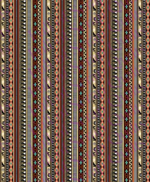 Pueblo Border Stripe Fabric - 10360