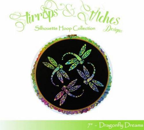Dragonfly Dreams 7in Silhouette Hoop Kit - DD-7IN