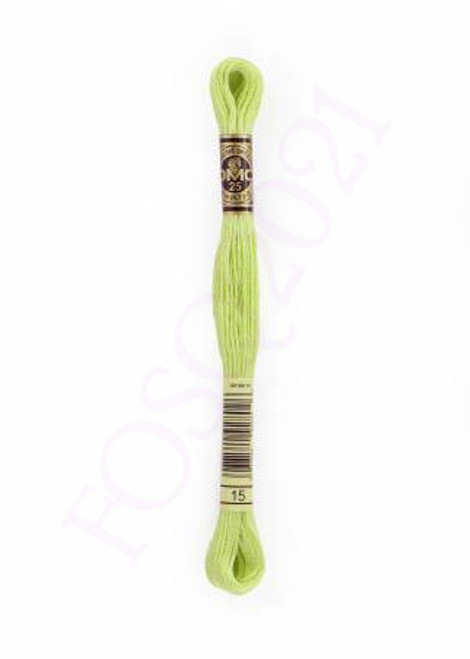 Six Strand Embroidery Floss - Apple Green - 117UA-15