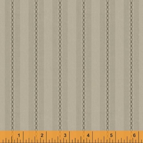Beechnut Chain and Stripe Design Fabric - 52076-11