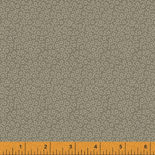 Earth Tone Le Petits Floral Design Fabric - 52079-7