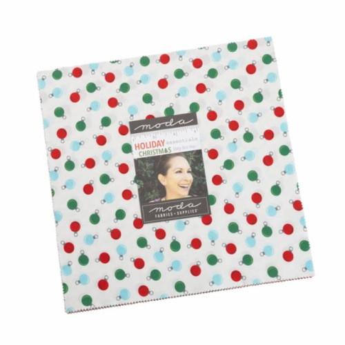 "Holiday Essentials Christmas Layer Cake - 42 10"" Squares - 20740LC"