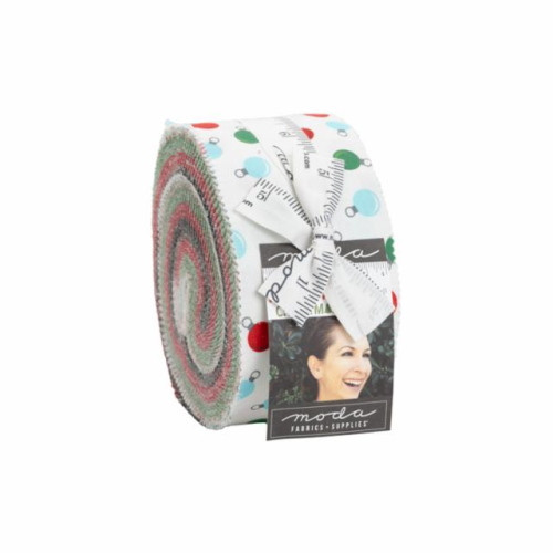 """Holiday Essentials Christmas Jelly Roll - 42 2 1/2"""" Strips - 20740JR"""