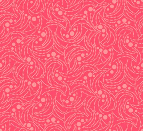 Swirlygig Dotty - Raspberry Fabric - RIV-SG-2253-36