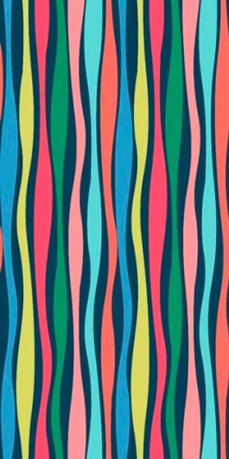 Swirlygig Stripe - Navy Fabric - RIV-SG-2252-19