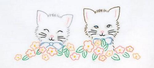 Kittens Perle Edge Pillowcases - 1600-755