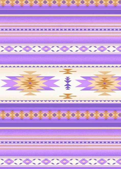 Lavender Southwest Stripe Fabric - 201Lavender