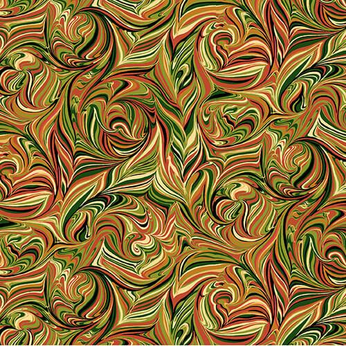 Harvest Marble Fabric - 2668-35