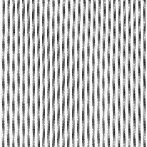 Navy Blue Stripe Ticking Fabric - 432