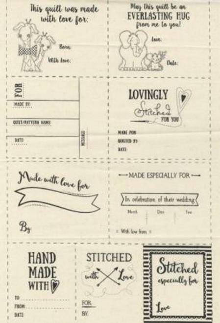 Fabric Quilt Labels - WCCQUILTLABE
