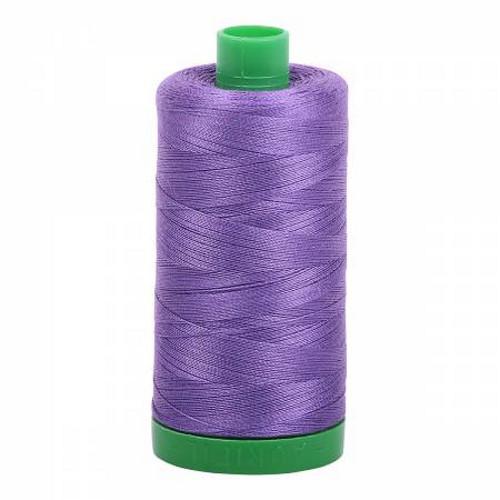Dusty Lavender Cotton Mako Thread - 40wt - 1092 yards (1000m) - MK40-1243